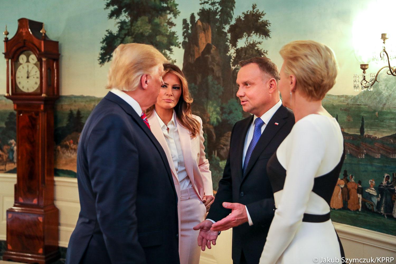 Duda i Trump zapewniają: Relacje między Polska i USA są doskonałe