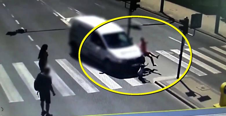 Olsztyn: Kobieta i 5-letnie dziecko potrąceni na pasach na zielonym świetle