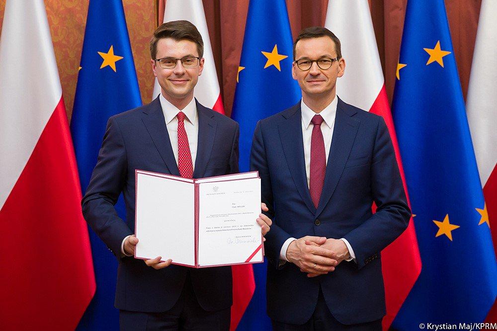 Premier  Morawiecki powołał Piotra Muellera na rzecznika rządu