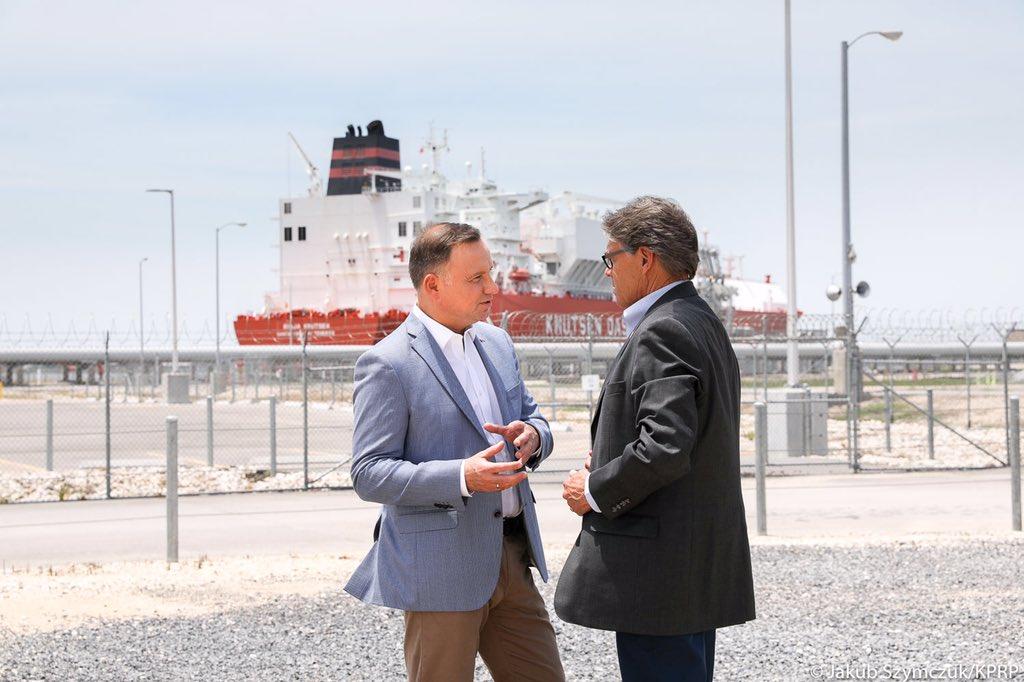 Teksas: Polska chce kolejnych zakupów LNG