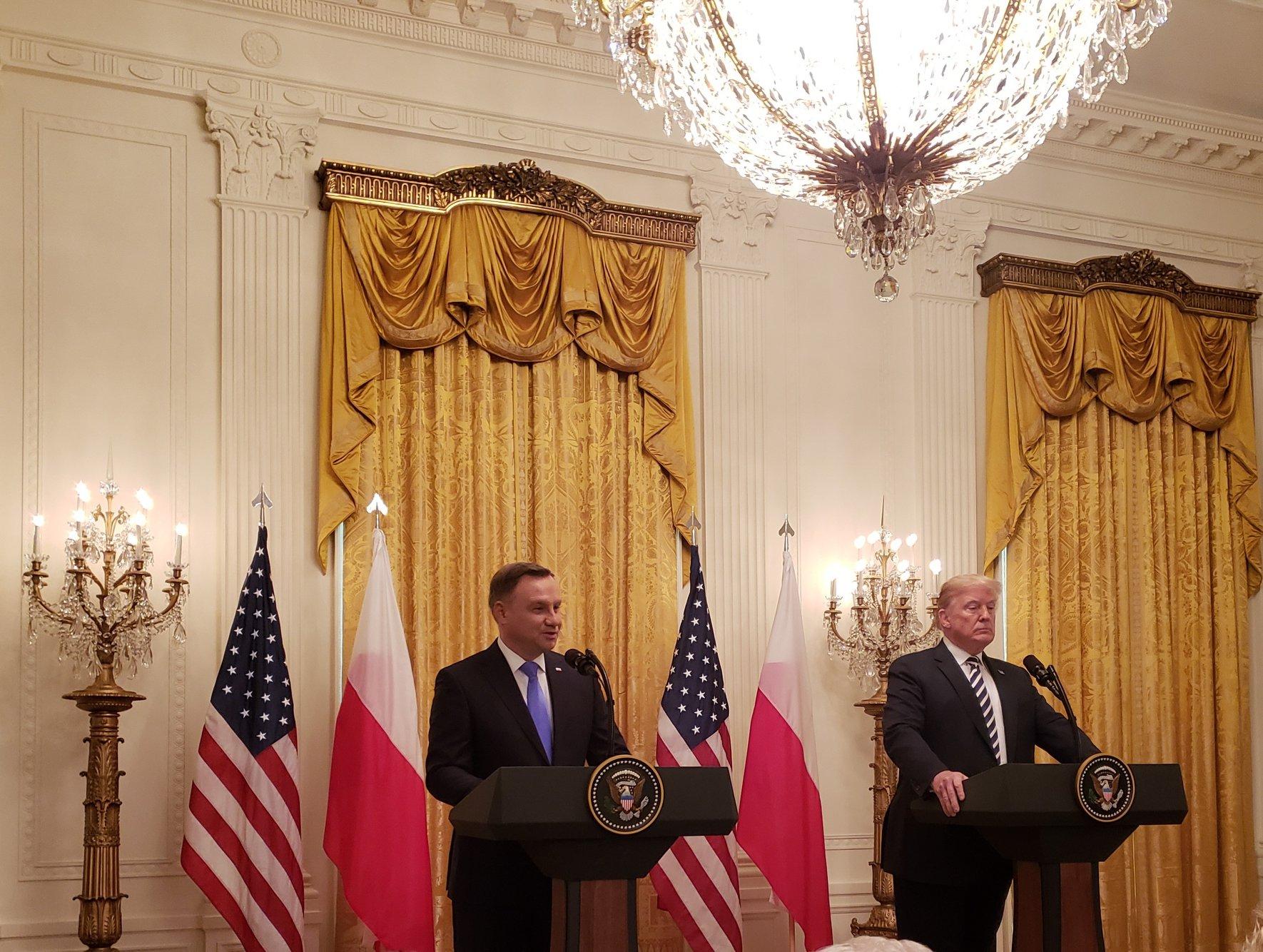 Przygotowania do spotkania Prezydentów w Białym Domu