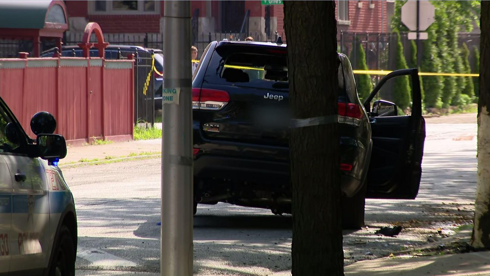 Policjant postrzelony w dzielnicy Bronzeville