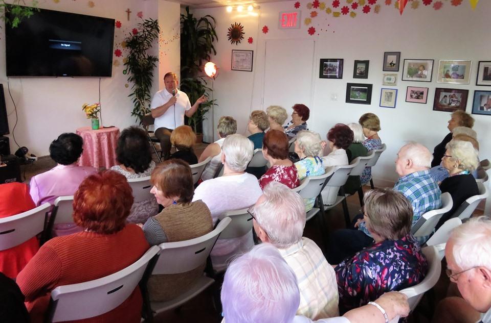 Wykład o zdrowiu w Klubie seniora Amber na Greenpoincie