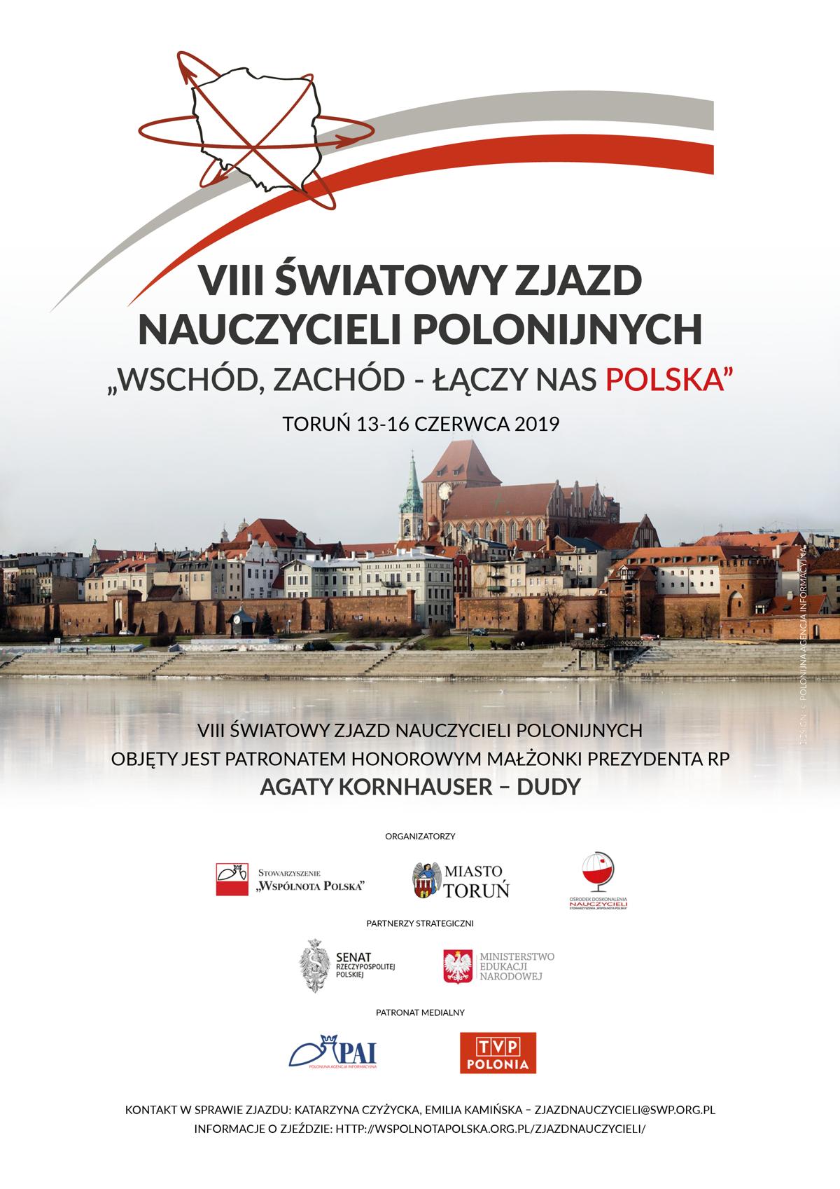 Swiatowy Zjazd Nauczycieli Polonijnych w Toruniu