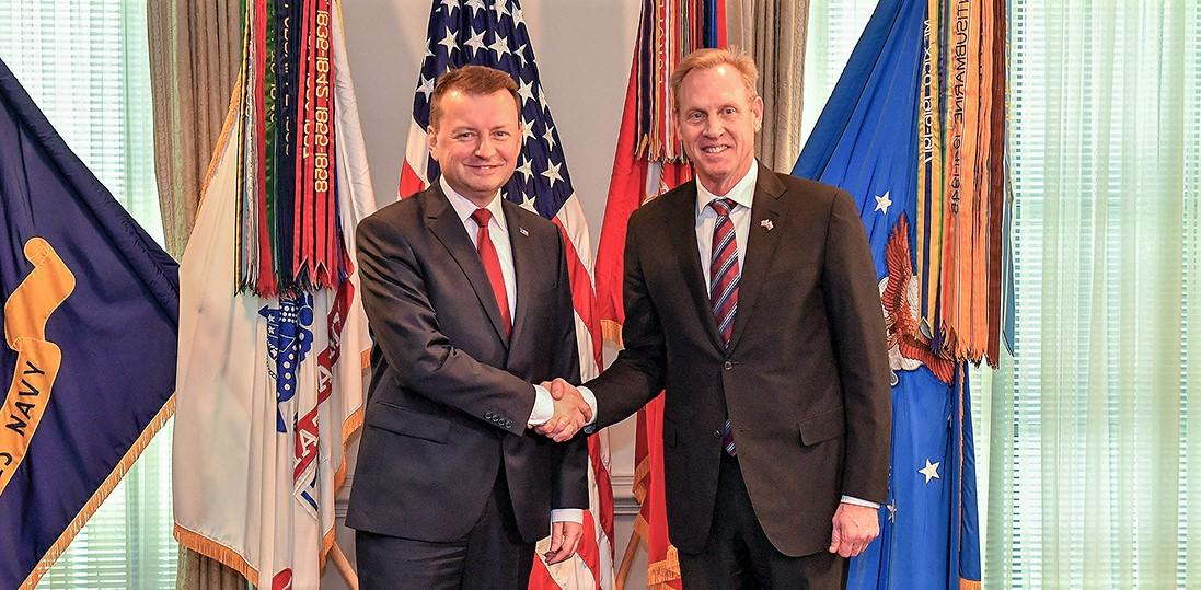 Minister Mariusz Błaszczak w Pentagonie