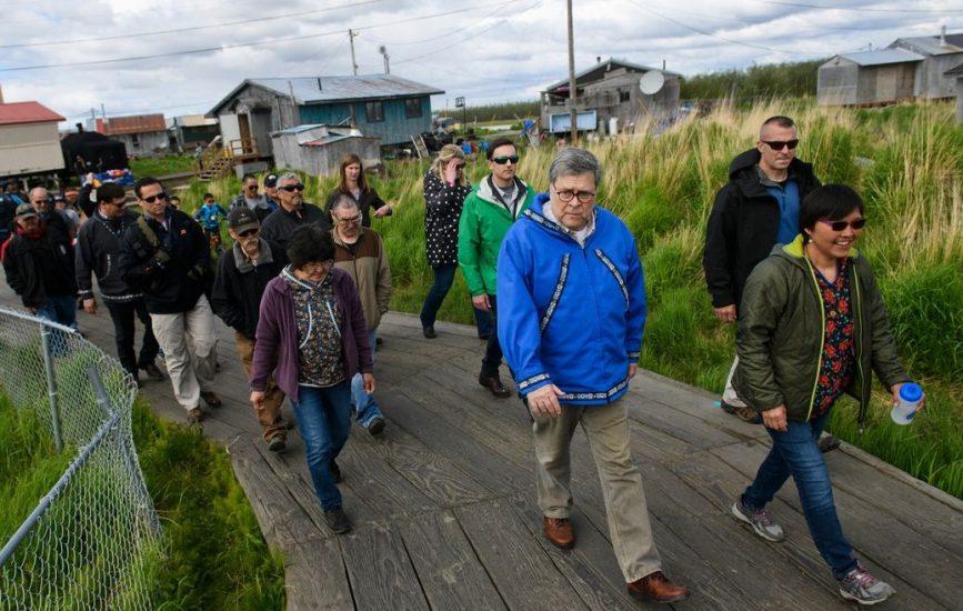 Stan zagrożenia bezpieczeństwa na Alasce