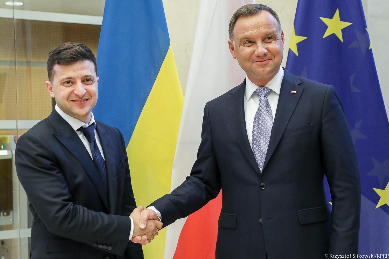 Prezydent Duda o budowaniu mostów między Polską a Ukrainą w duchu prawdy