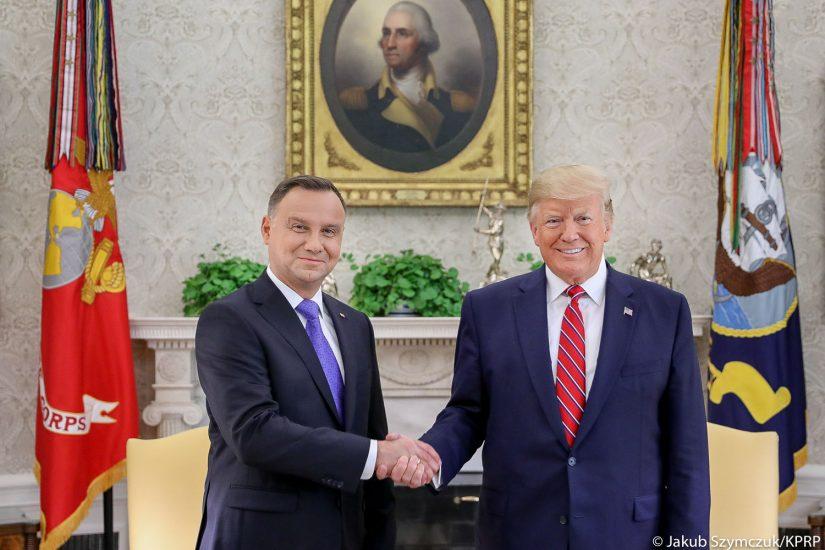Prezydenci Polski i USA podpisali umowę o Współpracy Obronnej na terytorium RP