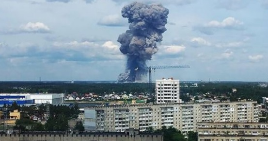 Eksplozja w rosyjskim instytucie badań pirotechnicznych