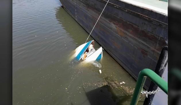 Odnaleziono ciało drugiego mężczyzny z łódki, która wywróciła się na rzece Chciago