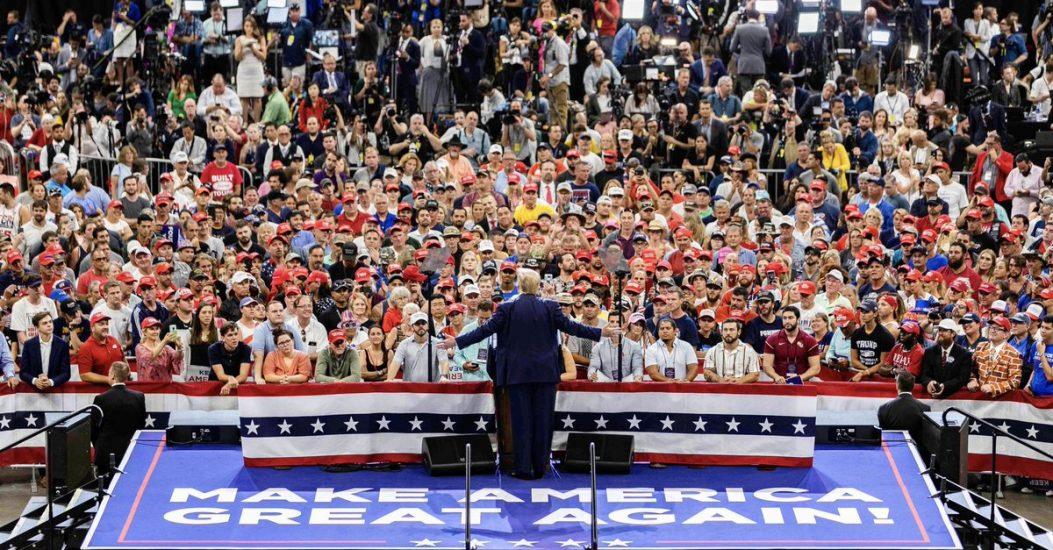 Donald Trump oficjalnie rozpoczął kampanię wyborczą