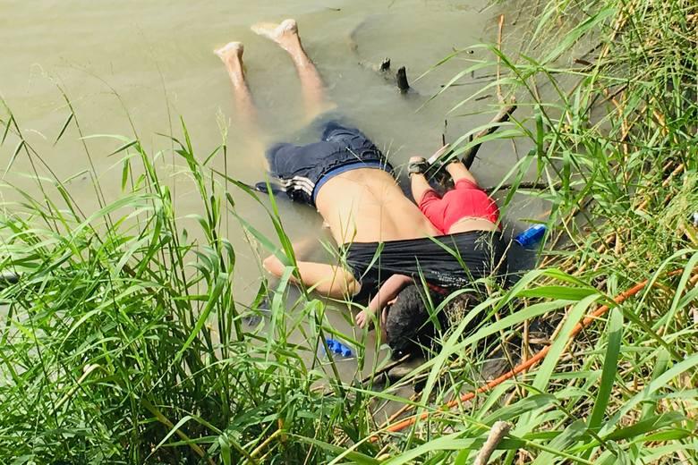 Ojciec i jego 2-letnia córeczka utonęli chcąc dostać się do wymarzonej Ameryki