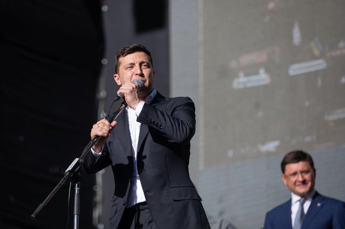 Ukraina: Wybory parlamentarne wygrała partia Wołodymyra Zełenskiego Sługa Narodu