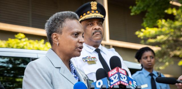 Burmistrz Lori Lightfoot rozczarowana działaniami policji