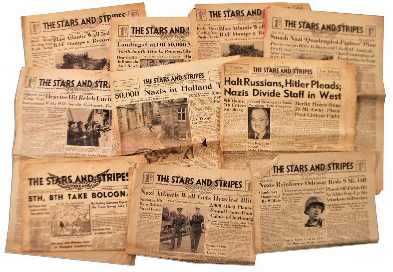 Stars and Stripes – gazeta dla amerykańskich żołnierzy drukowana jest w …Bydgoszczy