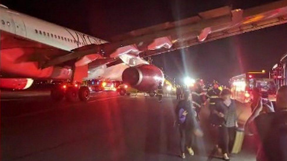 Pożar w samolocie do Londynu. Awaryjne lądowanie w Bostonie