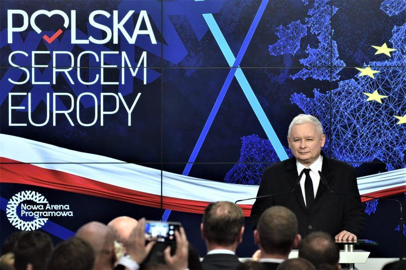 Jarosław Kaczyński przedstawił liderów list Prawa i Sprawiedliwości