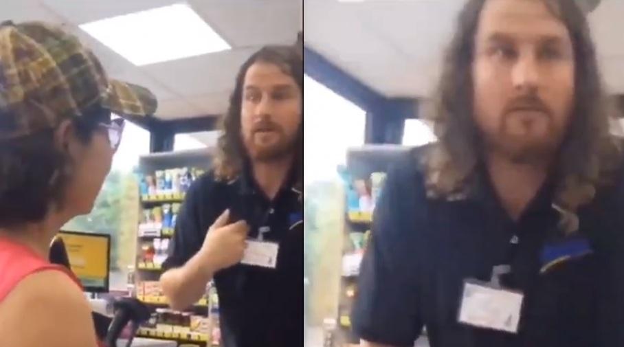 Naperville: Pracownik stacji benzynowej groził klientom wezwaniem ICE