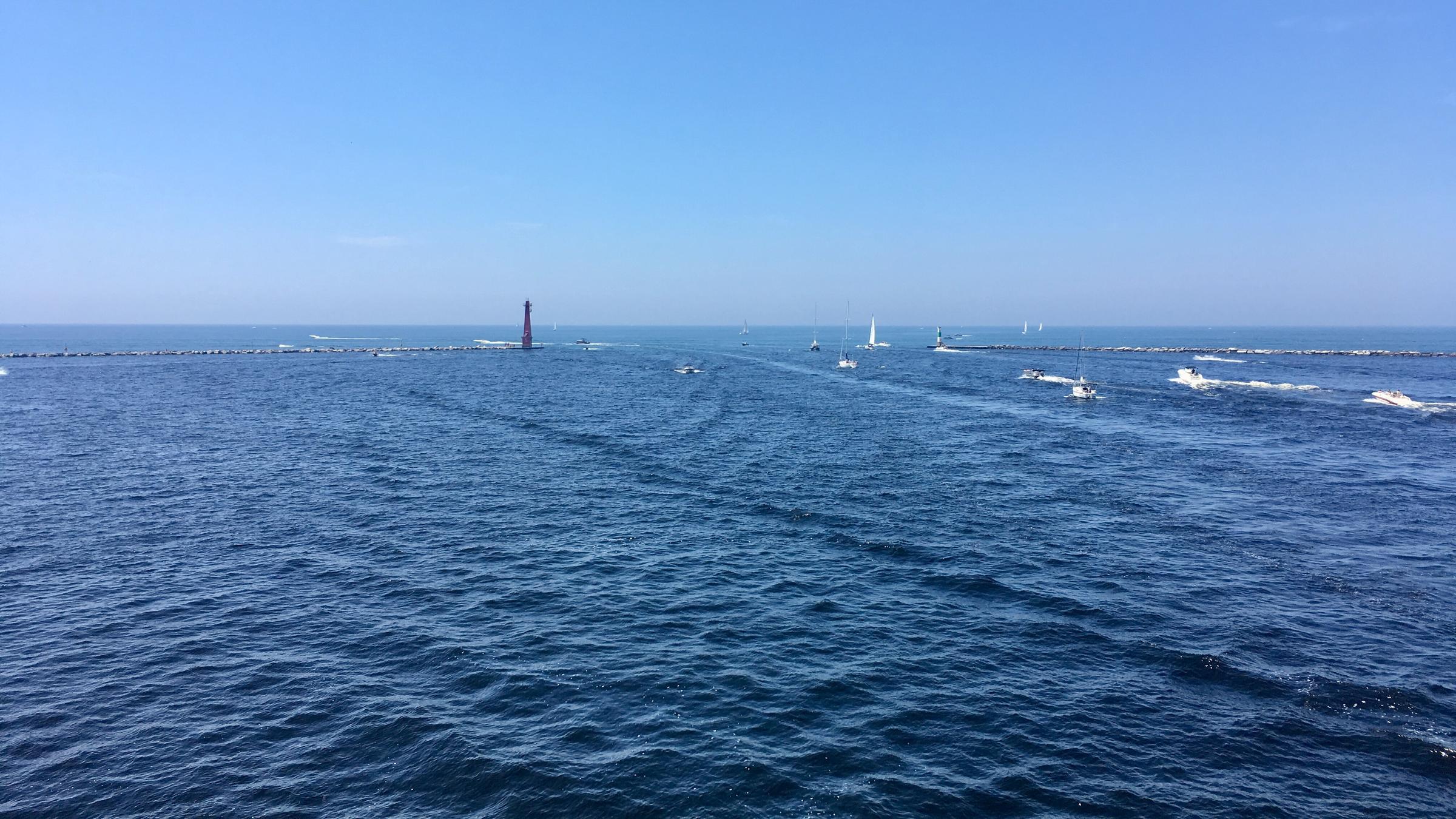Rekordowy poziom wody w jeziorze Michigan