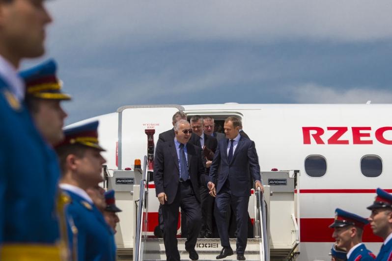 Kancelaria Premiera opublikowała wykaz lotów b. premiera Donalda Tuska