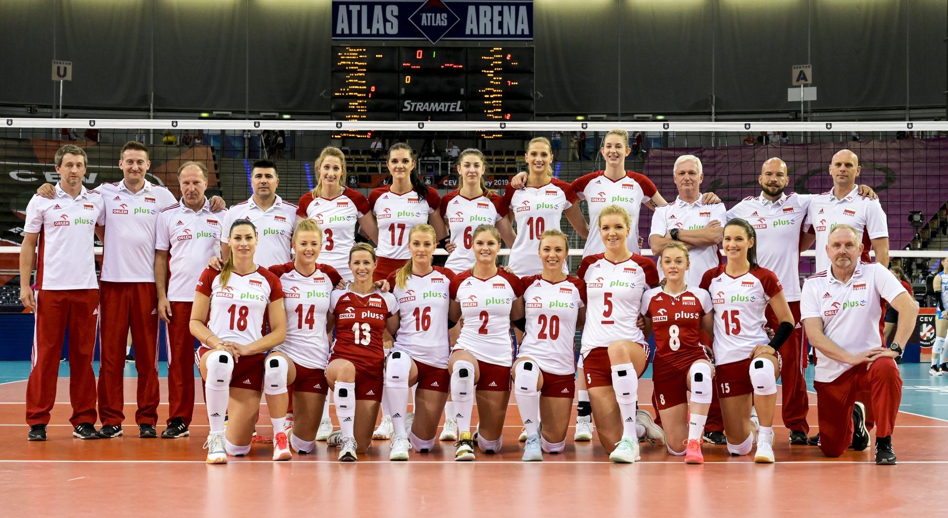 Polskie siatkarki bez medalu na mistrzostwach Europy
