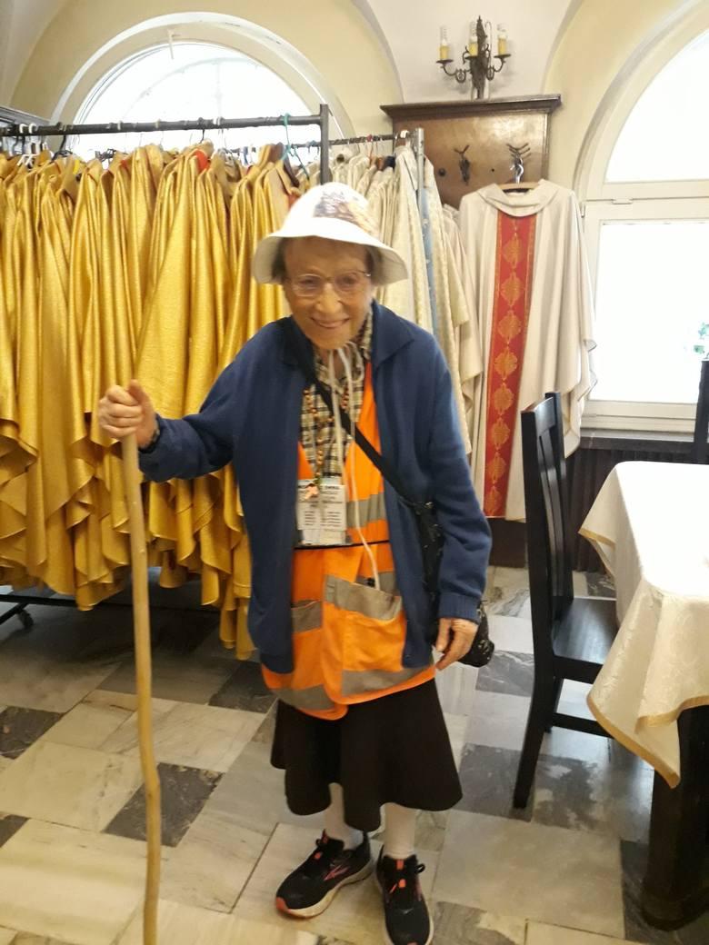 95-letnia Włoszka dotarła na Jasną Górę. Kobieta przeszła około 1000 km