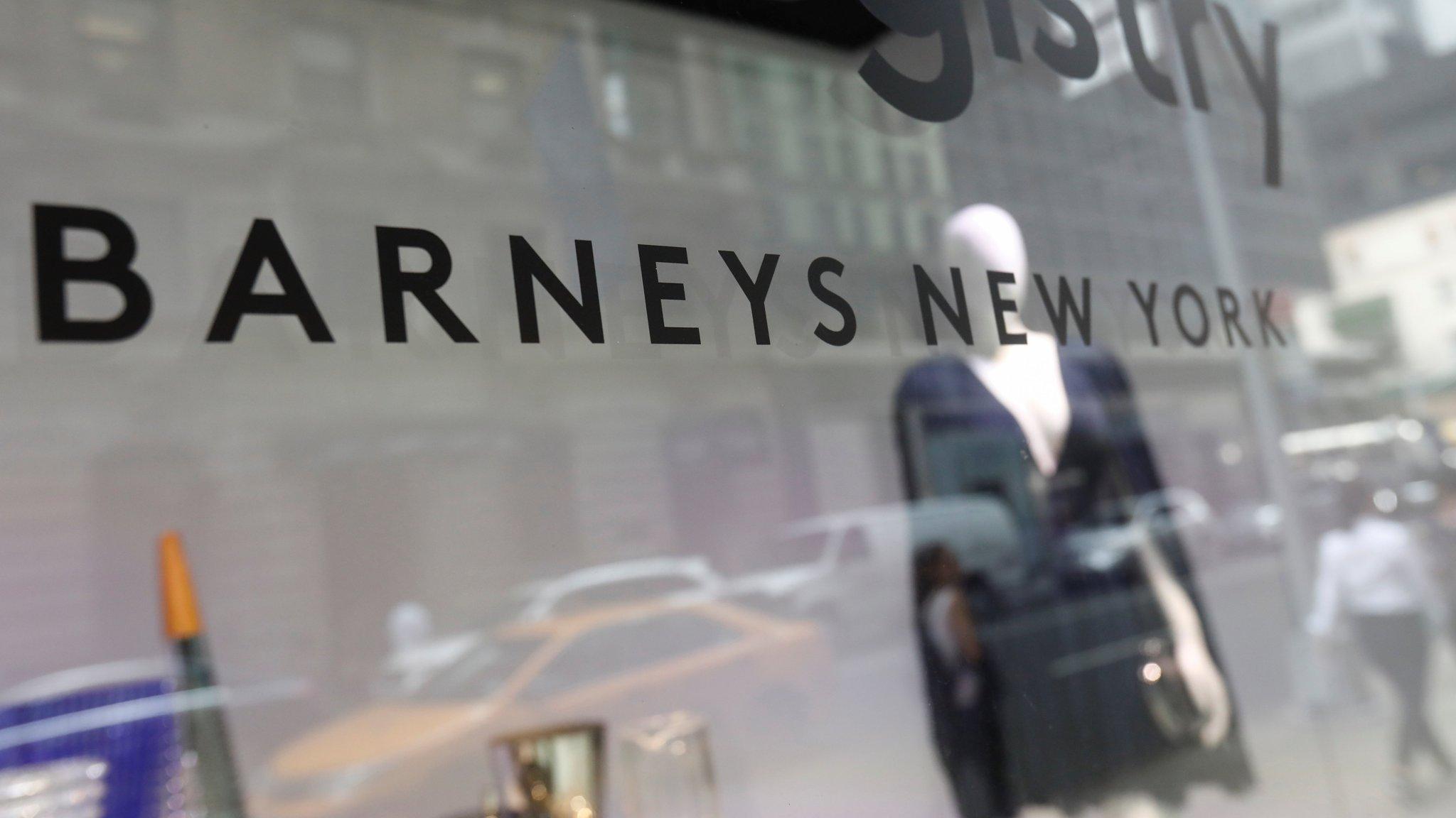 Barneys New York złożył wniosek o bankructwo