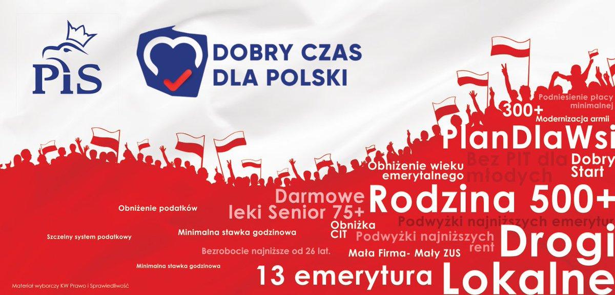 Prezentacją billboardu oraz hasła politycy PiS rozpoczęli kampanię wyborczą w Radomiu