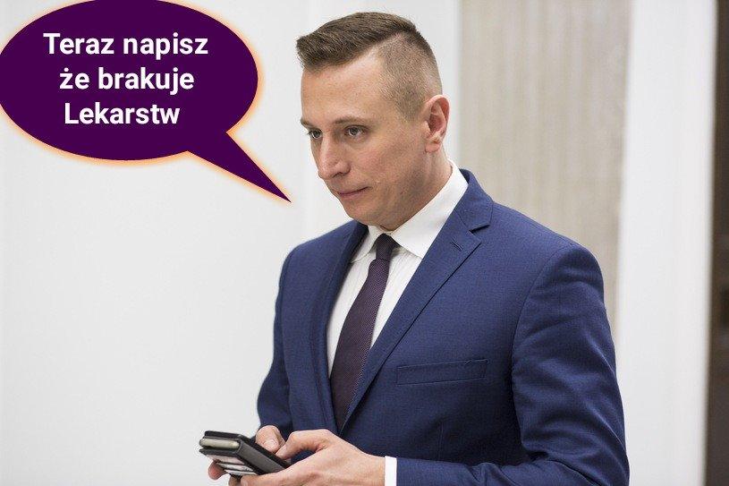 """Poseł Brejza i grupa hejterów w Inowrocławiu. """"Jutro hejt tak by się nie obronił już, na dobicie"""""""