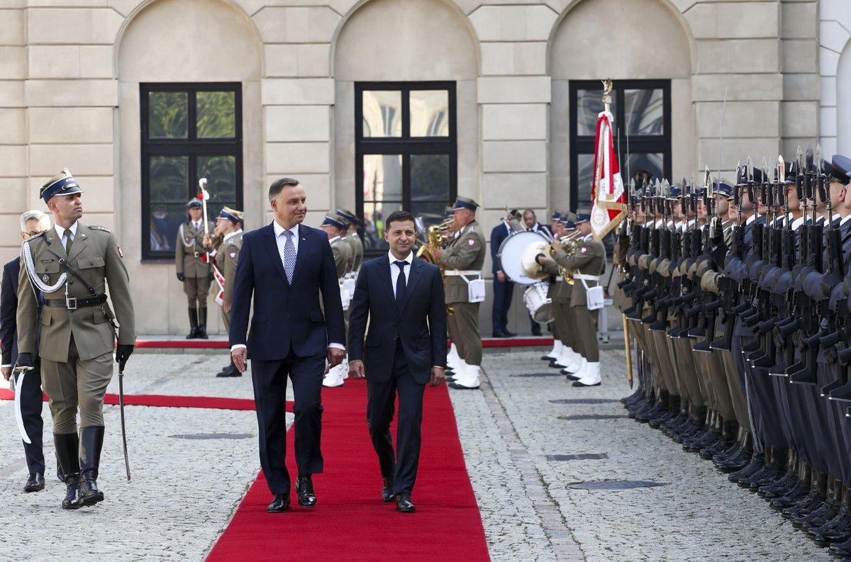 Prezydent Duda spotkał się prezydentem Ukrainy. Ważna deklaracja Zełenskiego