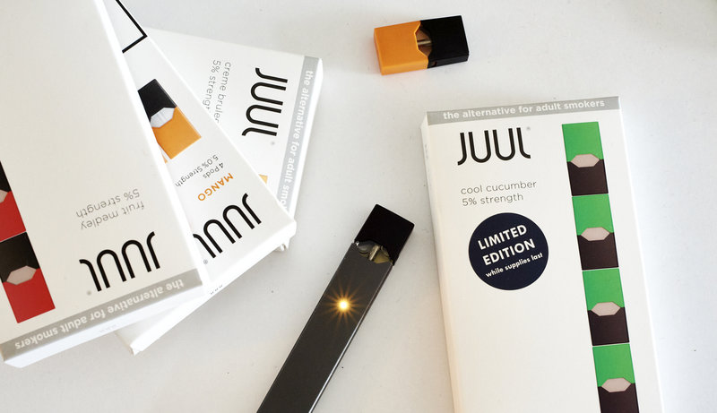 Prokurator powiatu Lake złożył pozew przeciw producentowi e-papierosów