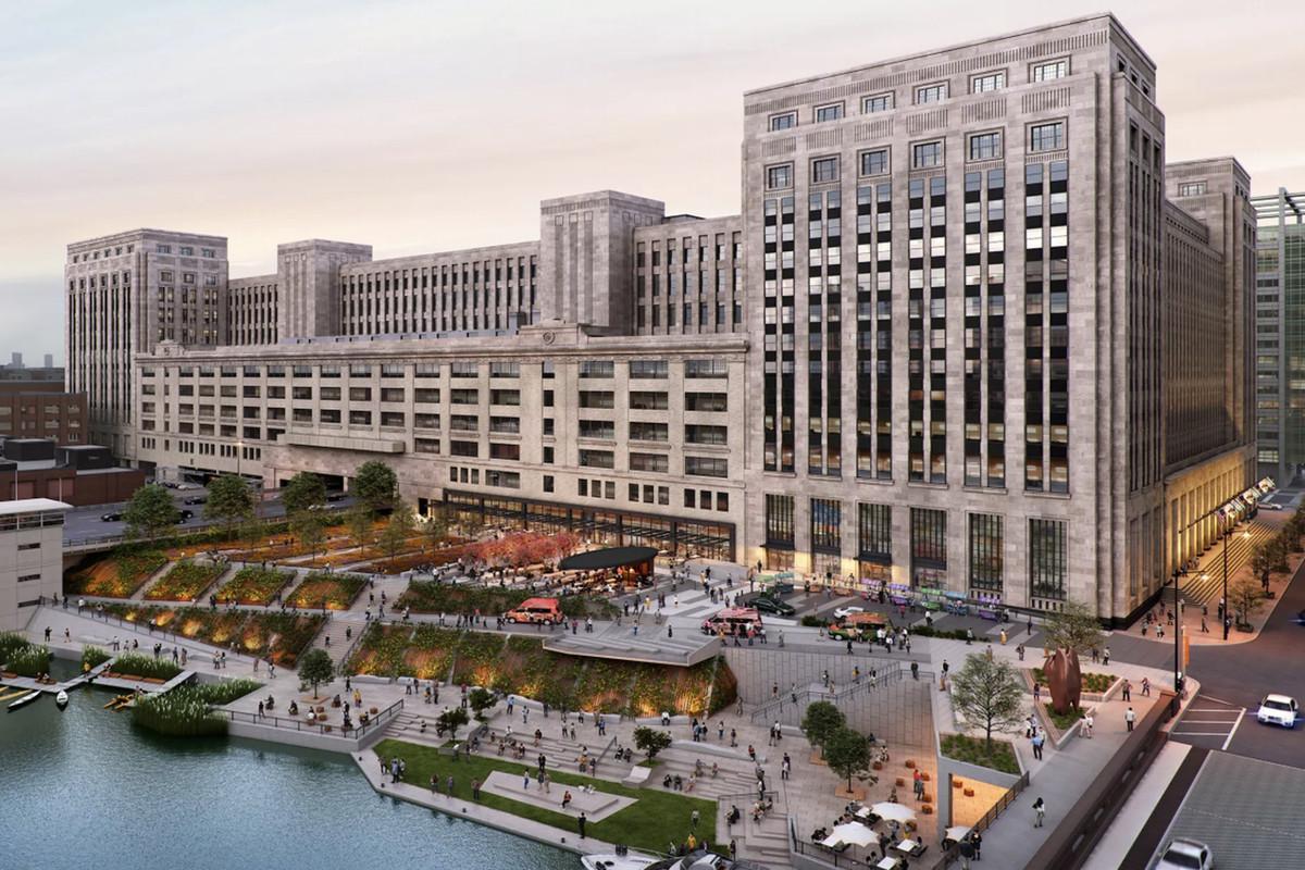 Uber wynajął Old Main Post Officew Chicago