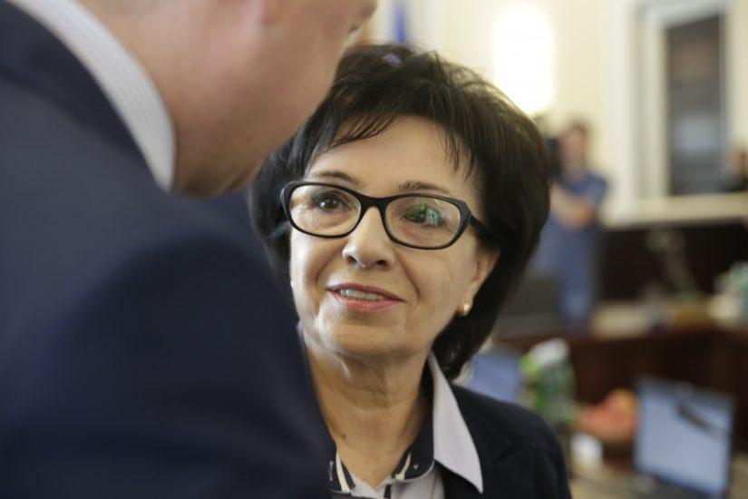 Elżbieta Witek została wybrana na marszałka Sejmu
