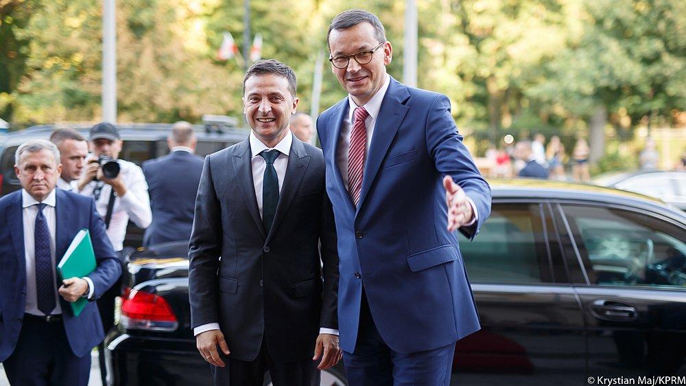Zełenski zaapelował o pamięć i wspólne przebaczenie w polsko-ukraińskich stosunkach
