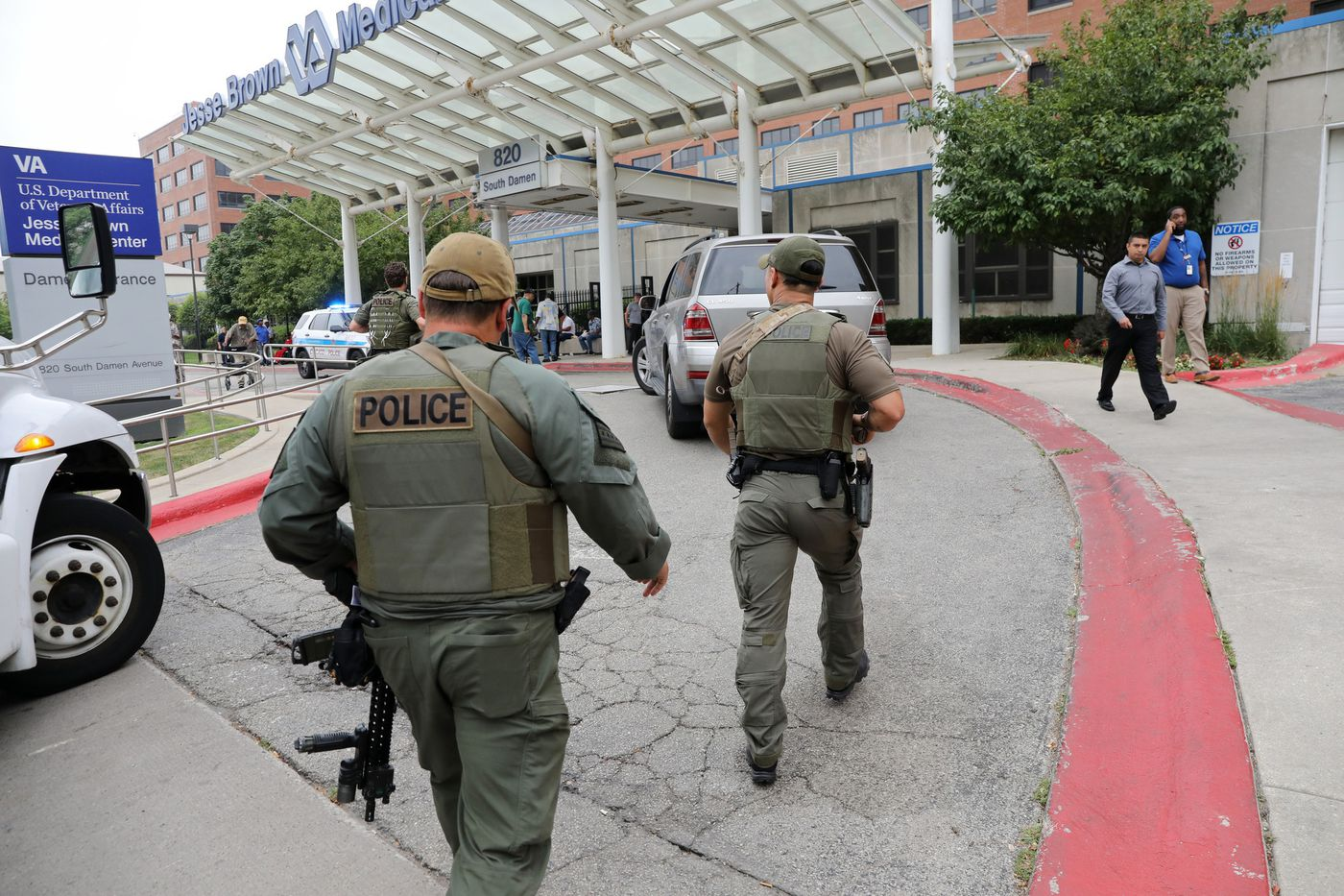 Strzelanina przed chicagowskim szpitalem. Policja zatrzymała sprawcę