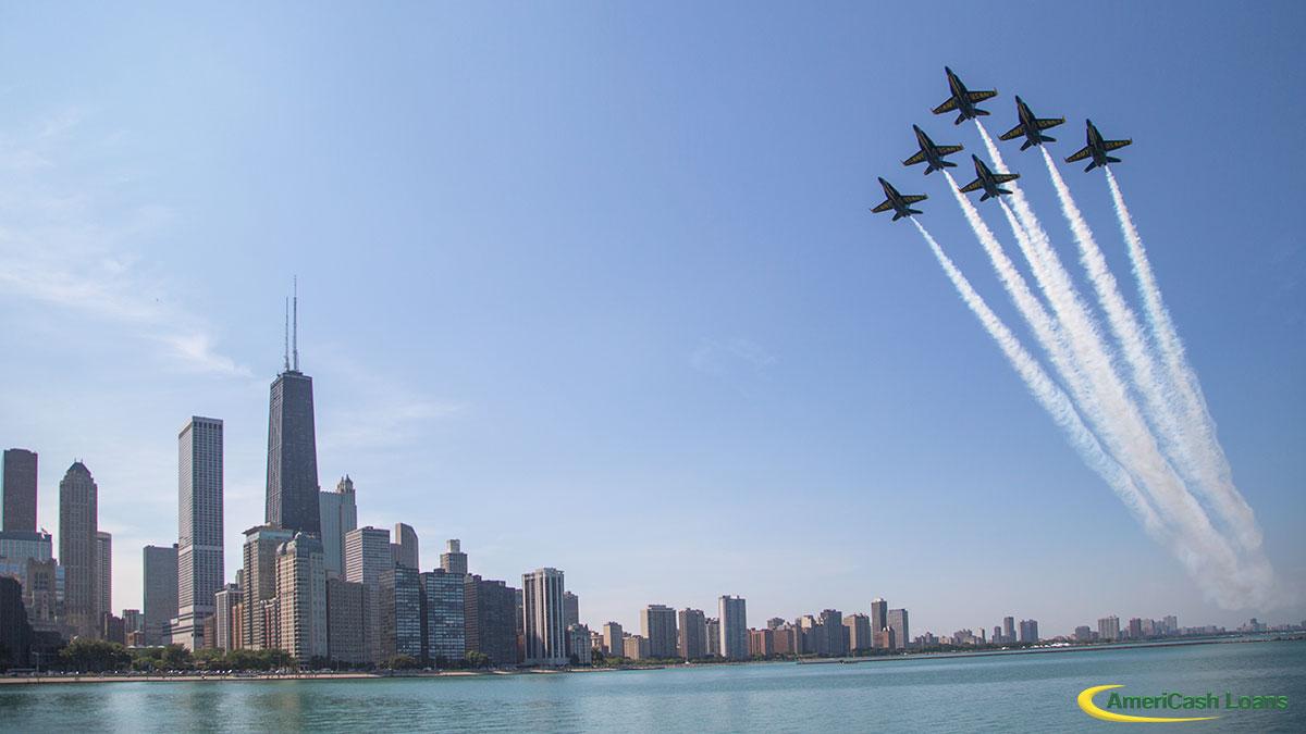 Przygotowania do 61. Chicago Air and Water Show