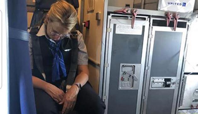 Pijana stewardesa na pokładzie samolotu United Airlines