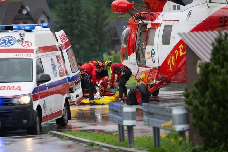 Poszukiwani po burzy w Tatrach zostali odnalezieni. W sumie zginęło 4 turystów, a ponad 150 zostało rannych