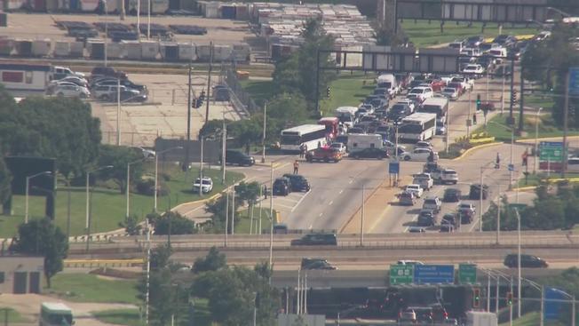 Sześć osób rannych w kolizji autobusu z radiowozem w pobliżu O'Hare