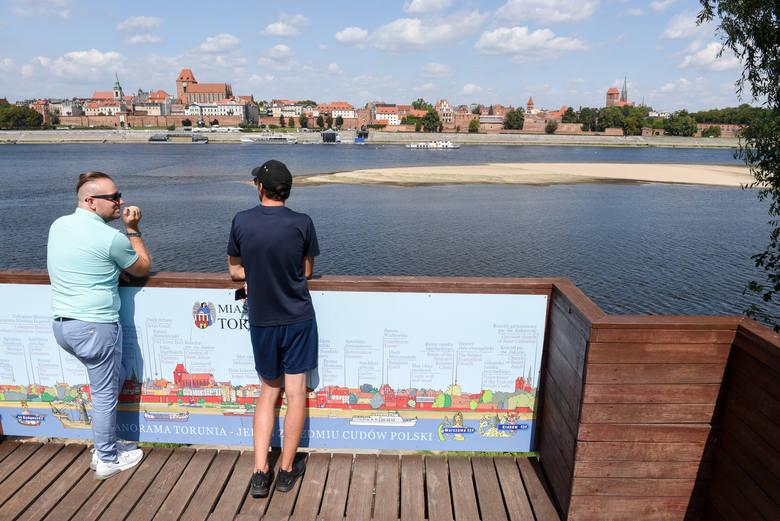 Toruński sanepid przebadał wodę z Wisły. Badanie wkrótce powtórzą