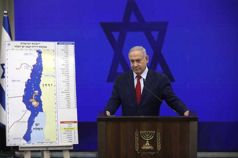 """Izrael: Benjamin Netanjahu zapowiedział aneksję Doliny Jordanu. """"To dla nas wielka szansa"""""""