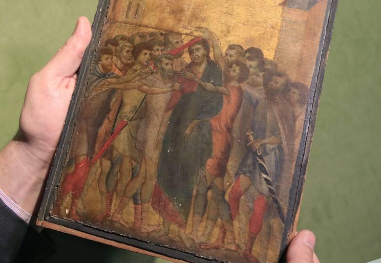 """Paryż: Średniowieczne arcydzieło """"Chrystus wyszydzany"""" przez lata wisiało w kuchni starszej pani"""