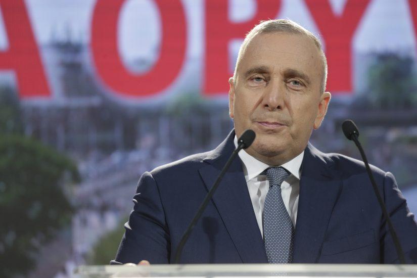 Grzegorz Schetyna zrezygnował z kandydowania na przewodniczącego PO