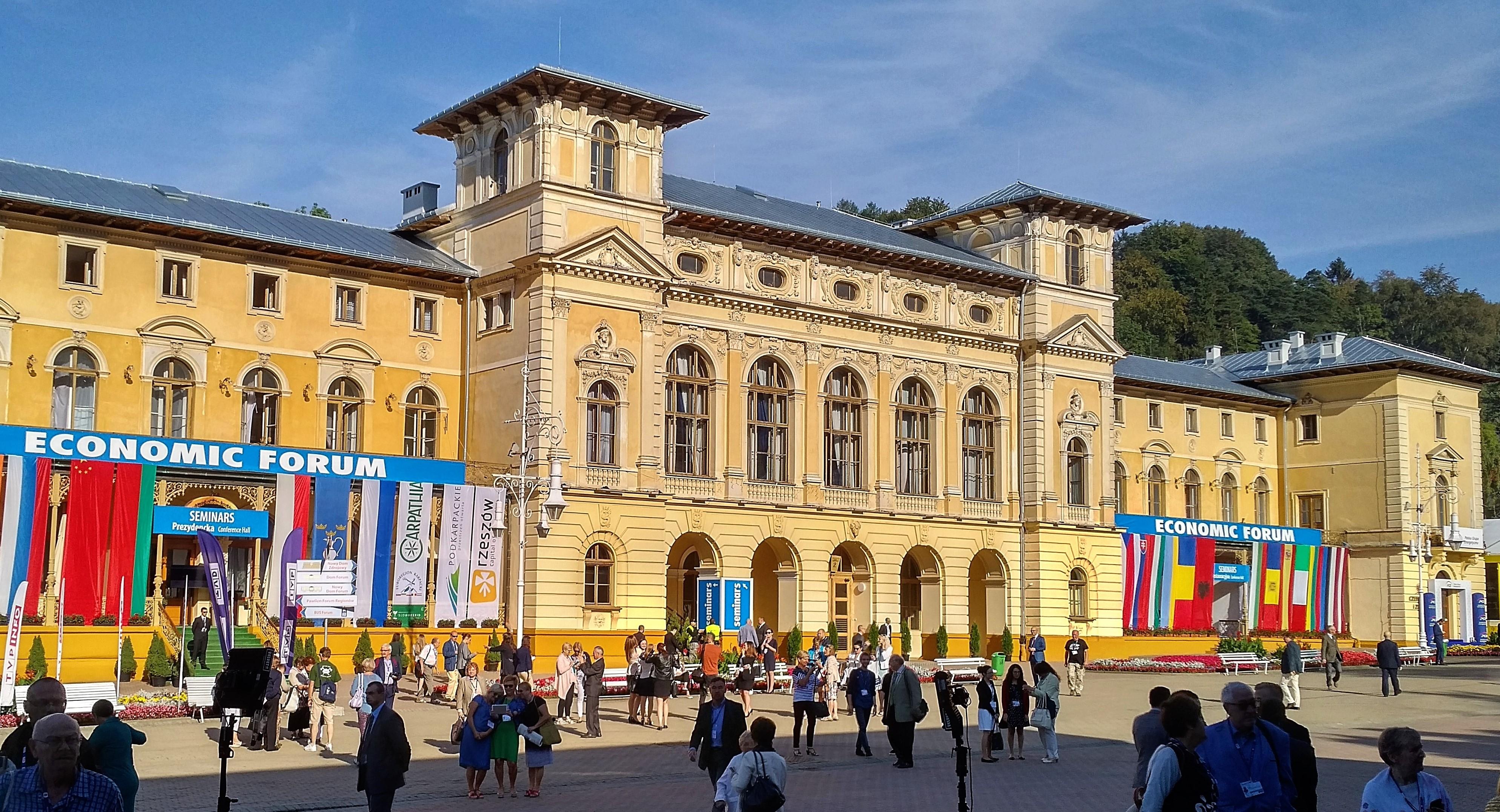 W Krynicy IV Polonijne Forum Ekonomiczne