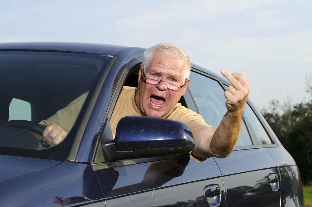 W USA o  500 procent wzrosła liczba wypadków z powodu agresywnego zachowania kierowców