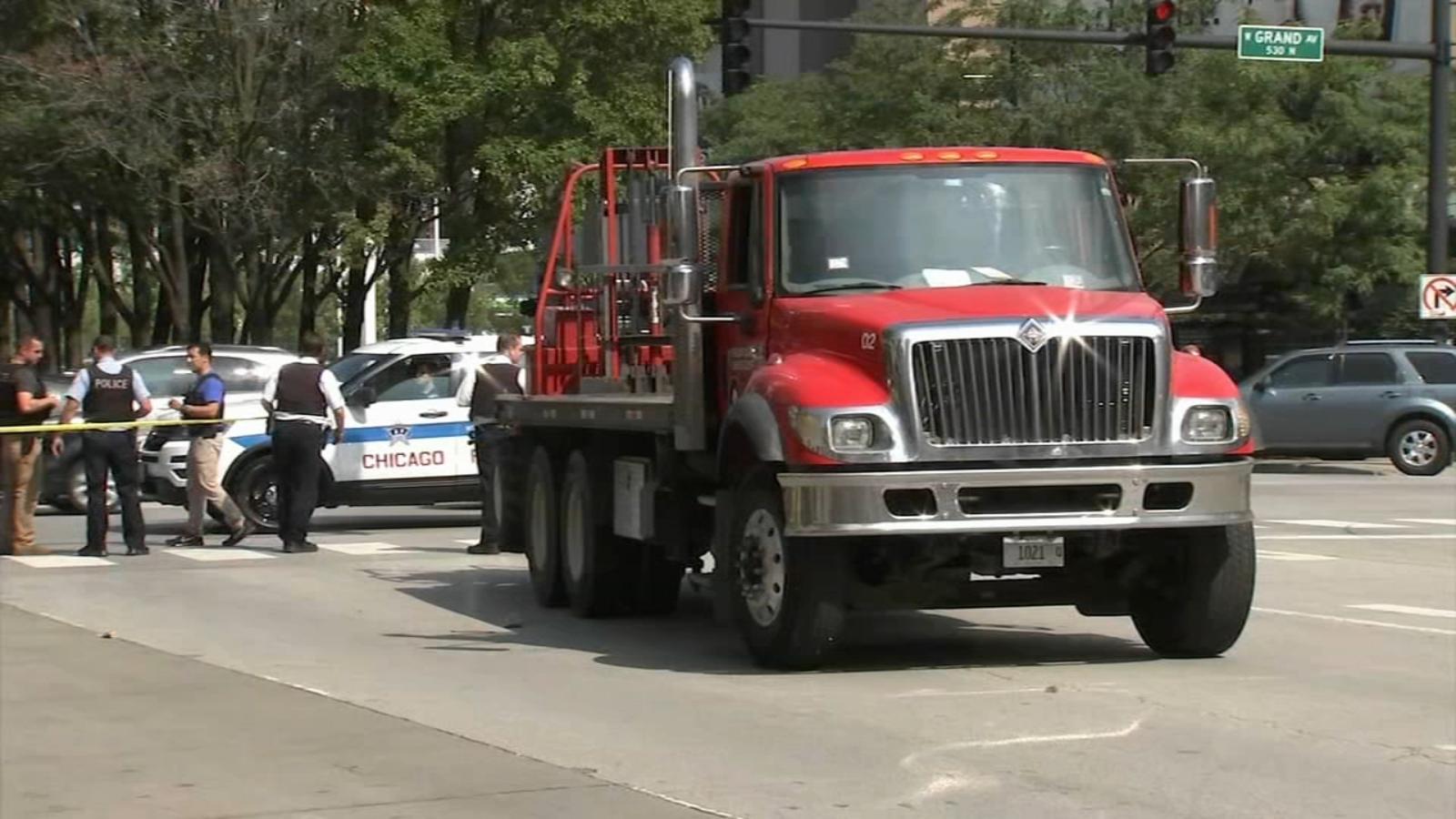 Kobieta w ciąży śmiertelnie potrącona przez ciężarówkę w centrum Chicago