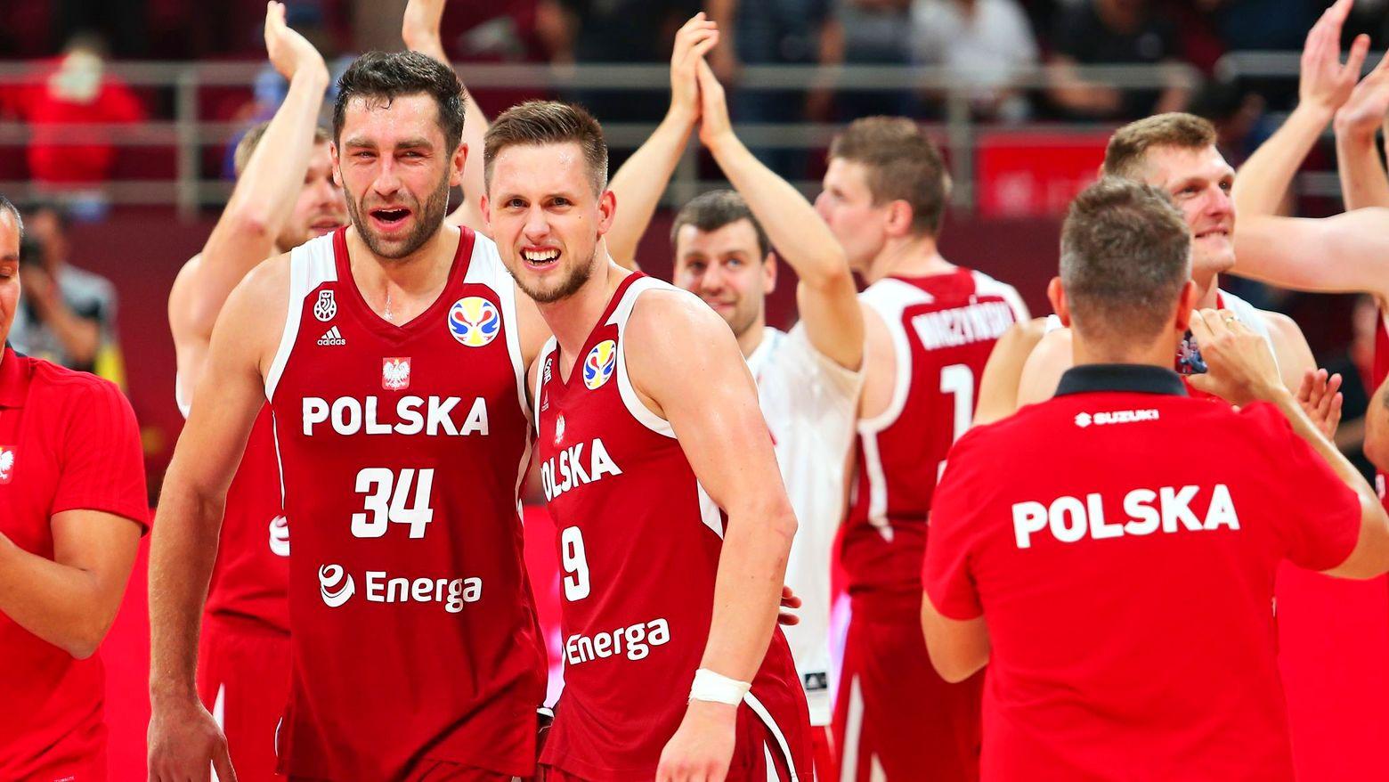 Polscy koszykarze są już pewni awansu do drugiej rundy mistrzostw świata