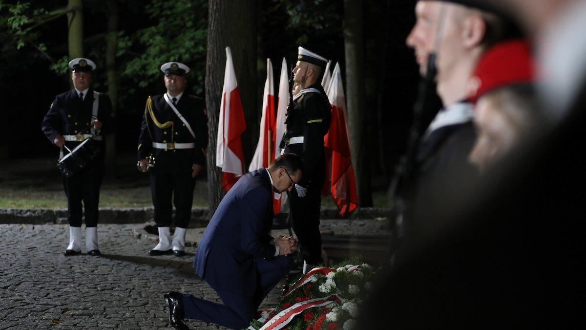 Uroczystości z okazji 80. rocznicy wybuchu II wojny światowej na Westerplatte
