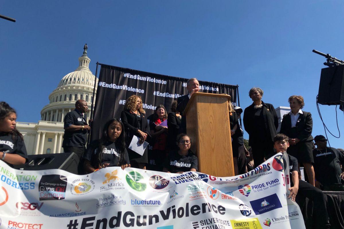Manifestacja w Waszyngtonie. Domagano się ostrzejszych przepisów dla posiadaczy broni
