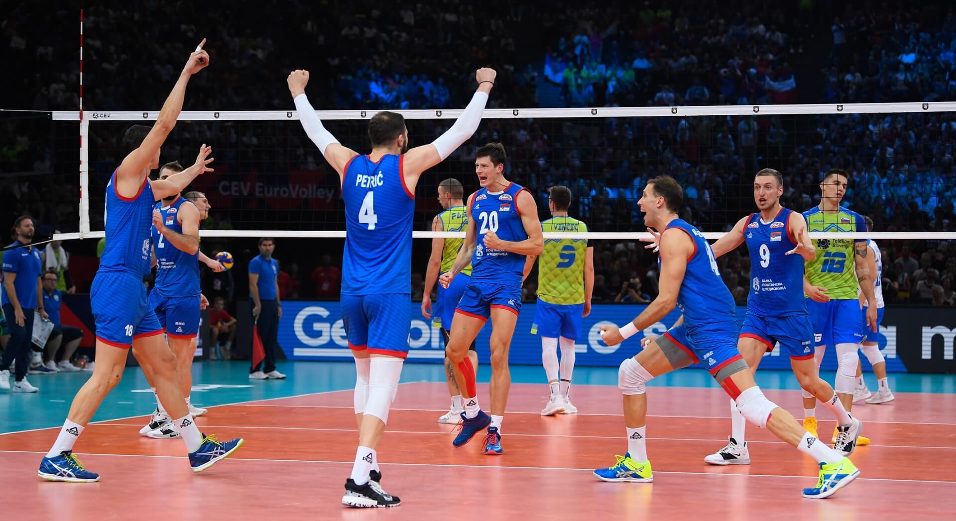 Siatkarze reprezentacji Serbii zostali mistrzami Europy